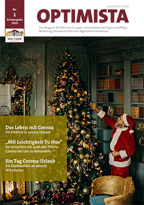 OPTIMISTA – Das Magazin der WH Care Gruppe